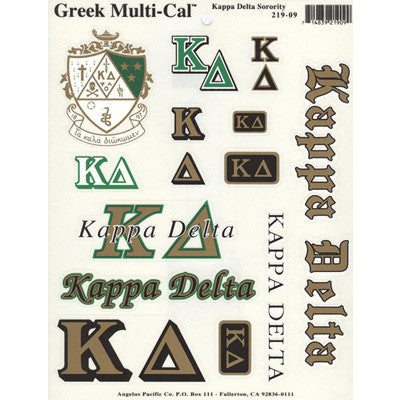 Kappa Delta Multi-Cal Stickers