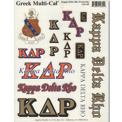 Kappa Delta Rho Multi-Cal Sticker