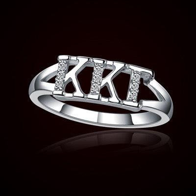 Kappa Kappa Gamma Sorority Ring - GSTC-R001