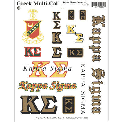 Kappa Sigma Multi-Cal Stickers