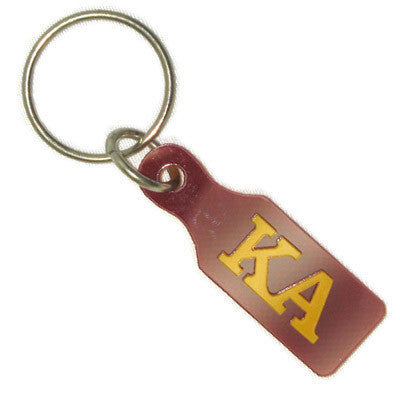 Kappa alpha paddle keychain greek merchandise and gear for Lil flip jewelry collection