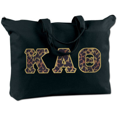 Kappa Alpha Theta Shoulder Bag - Bag Edge BE009 - TWILL