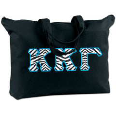 Kappa Kappa Gamma Shoulder Bag - Bag Edge BE009 - TWILL