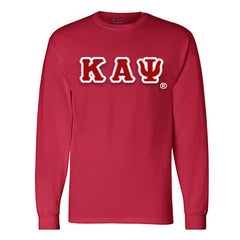 Kappa Alpha Psi Champion Long-Sleeve Tee - Champion CC8C - TWILL