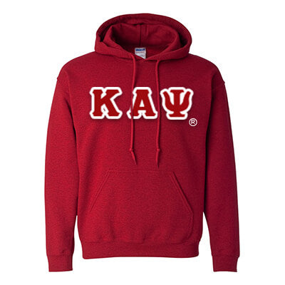 Kappa Alpha Psi Hooded Sweatshirt - Gildan 18500 - TWILL
