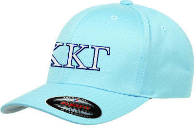 3d74e358 Kappa Kappa Gamma Fitted Hat with Embroidery - Sorority Apparel