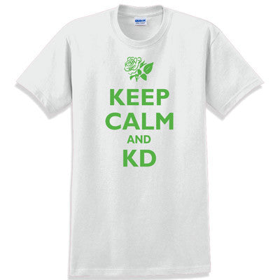 Keep Calm and KD Printed T-Shirt - Gildan 5000 - CAD