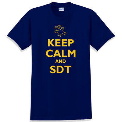Keep Calm and SDT Printed T-Shirt - Gildan 5000 - CAD