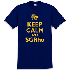 Keep Calm and SGRho Printed T-Shirt - Gildan 5000 - CAD