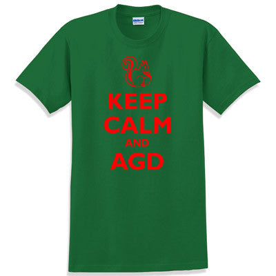 Keep Calm and AGD Printed T-Shirt - Gildan 5000 - CAD