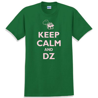 Keep Calm and DZ Printed T-Shirt - Gildan 5000 - CAD