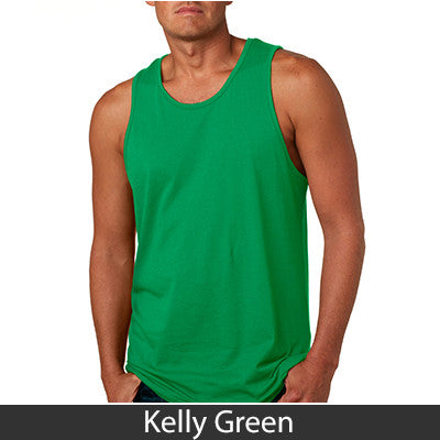 Alpha Gamma Delta Sorority Unisex Tank Top with Twill - Next Level 3633 - Twill