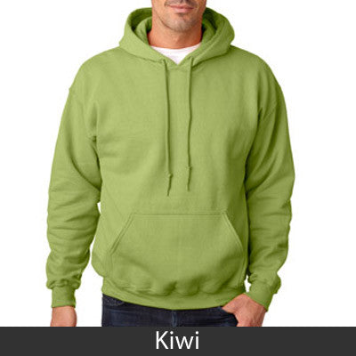 Delta Upsilon Hooded Sweatshirt - Gildan 18500 - TWILL