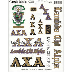 Lambda Chi Alpha Multi-Cal Stickers