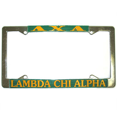 Lambda Chi Alpha License Plate Frame - Rah Rah Co. rrc