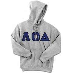 Lambda Omicron Delta Standards Hooded Sweatshirt - $25.99 Gildan 18500 - TWILL