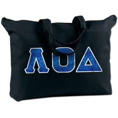 Lambda Omicron Delta Shoulder Bag - Bag Edge BE009 - TWILL