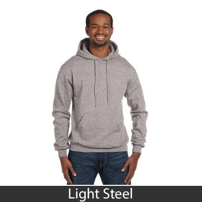 Beta Theta Pi Champion Hooded Sweatshirt - Champion S700 - TWILL