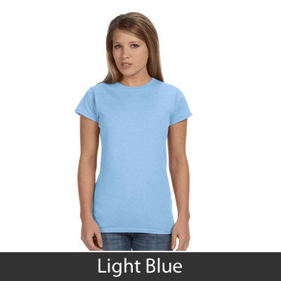Theta Phi Alpha Ladies' Softstyle Printed T-Shirt - Gildan 6400L - CAD