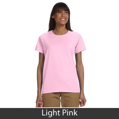 Phi Mu Ladies T-Shirt - Gildan 2000L - TWILL