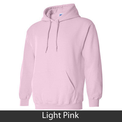 Alpha Gamma Delta Hooded Sweatshirt - Gildan 18500