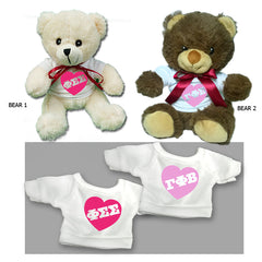 Sorority Love Bear - 25001-2 - CAD