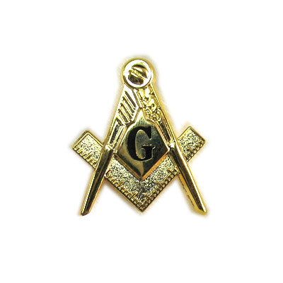 Masonic Shield 3-D Pin - SP-03DC