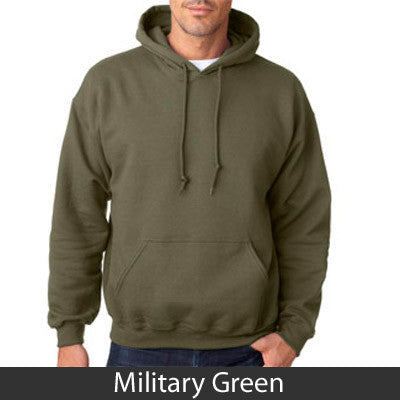 Stars & Stripes Fraternity Hooded Sweatshirt - Gildan 18500 - TWILL