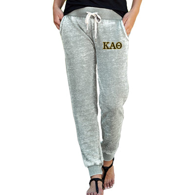 Sorority Embroidered Zen Jogger Pant - J America JA8944 - EMB