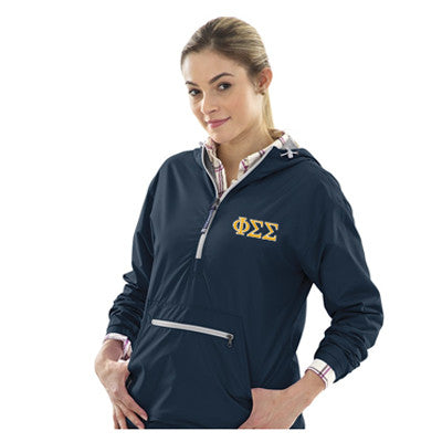 Sorority Embroidered Chatham Anorak Pullover Charles River 5809 - EMB