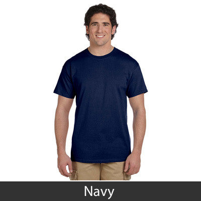 Stars & Stripes Fraternity Lettered T-Shirt - Gildan 5000 - TWILL