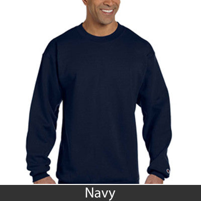 Fraternity Champion Crewneck Sweatshirt with Twill - Champion S600 - TWILL