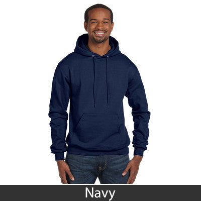 Sigma Chi Champion Hooded Sweatshirt - Champion S700 - TWILL