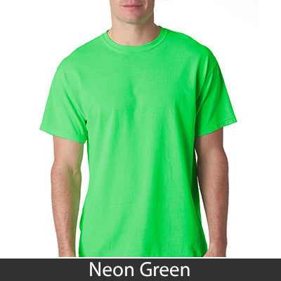 Omega Phi Beta Neon Peace Sign Printed Tee - Gildan 61 - CAD
