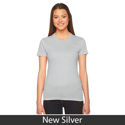 Delta Delta Delta Embroidered Jersey Tee - American Apparel 2102 - EMB