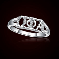 Omega Phi Alpha Sorority Ring - GSTC-R001