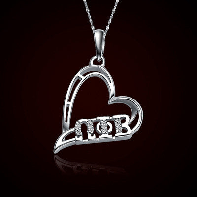 Omega Phi Beta Sorority Heart Charm - GSTC-HeartCharm