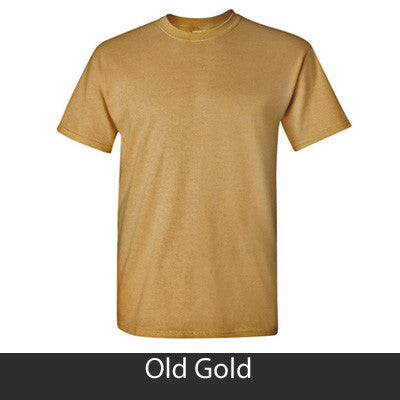 Greek State and Date Printed T-Shirt - Gildan 5000 - CAD