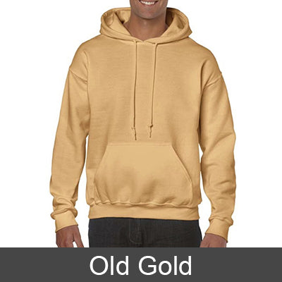Fraternity Printed Hoody with 8 Fonts - Gildan 18500 - CAD