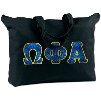 Omega Phi Alpha Shoulder Bag - Bag Edge BE009 - TWILL