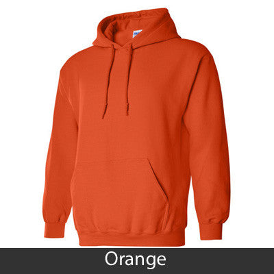 Alpha Phi Hooded Sweatshirt - Gildan 18500 - TWILL