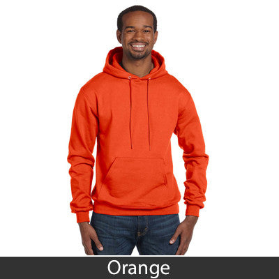 Kappa Delta Rho Champion Hooded Sweatshirt - Champion S700 - TWILL