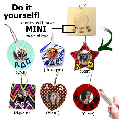 Greek DIY Custom Xmas Ornament - 13617998
