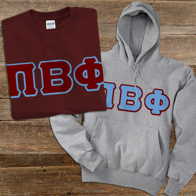 Pi Beta Phi Hoody/T-Shirt Pack - TWILL