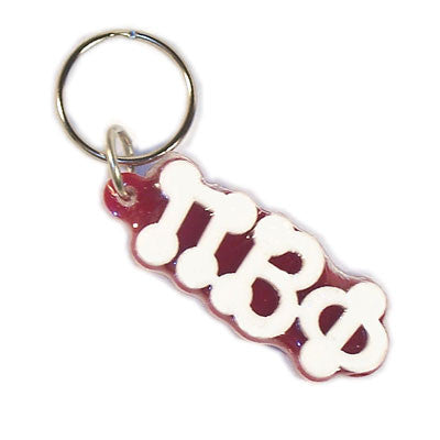 Pi Beta Phi Bubble Letter Keychain - Craftique cqBKC