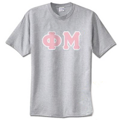 Phi Mu Standards T-Shirt - $14.99 Gildan 5000 - TWILL