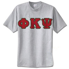 Phi Kappa Psi Standards T-Shirt - $14.99 Gildan 5000 - TWILL