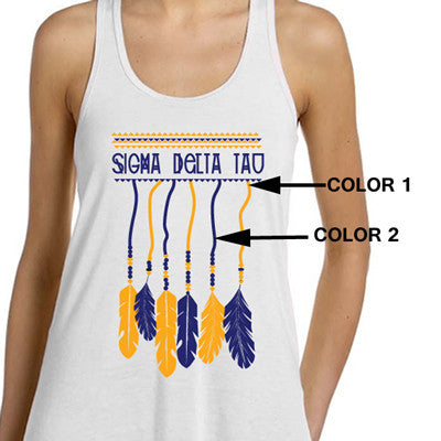 Hanging Dreamcatcher Sorority Printed Design - SUB