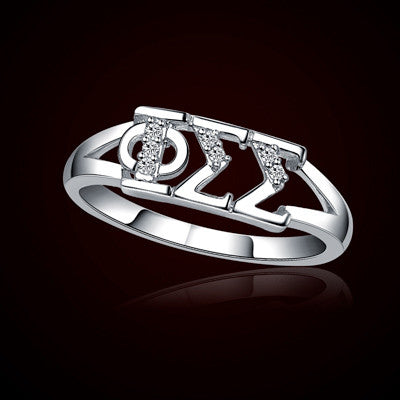 Phi Sigma Sigma Sorority Ring - GSTC-R001