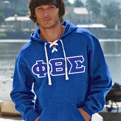 Phi Beta Sigma Hockey Hoody - J. America 8830 - TWILL